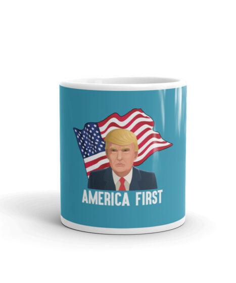 Trump America First Mug