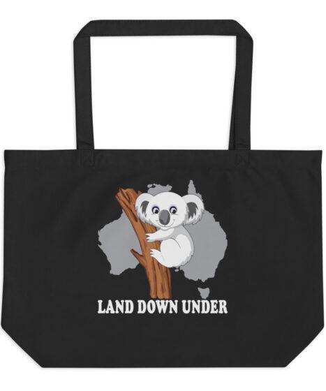 Koala Bear Large organic tote bag