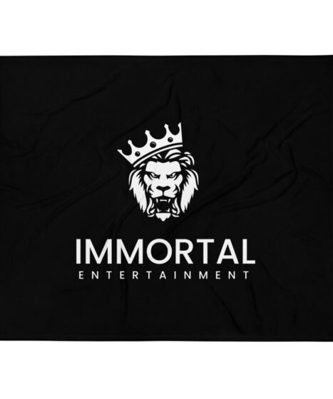 Immortal Entertainment Throw Blanket