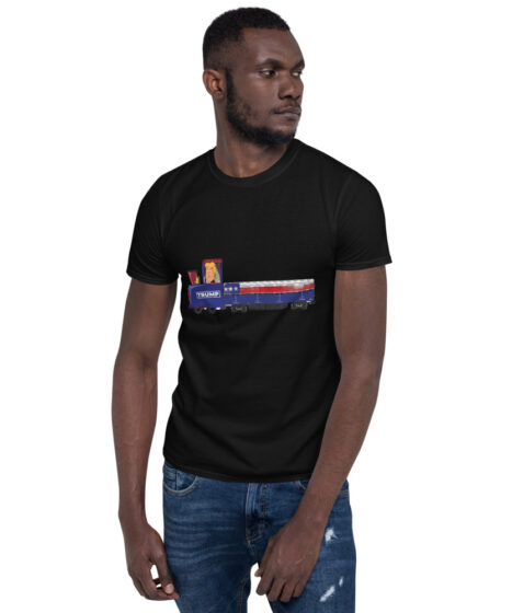 Trump Train Short-Sleeve Unisex T-Shirt