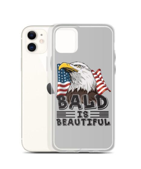 Bald Is Beautiful USA iPhone Case