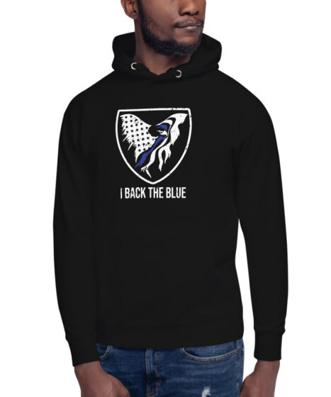 I Back The Blue Unisex Hoodie