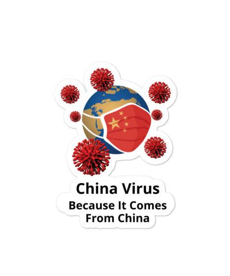 China Virus Bubble-free stickers