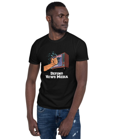 Defund News Media Short-Sleeve Unisex T-Shirt