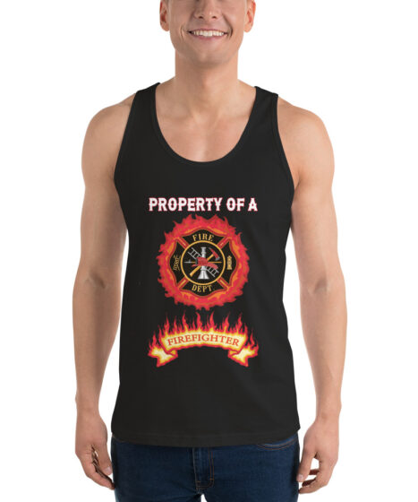 Property of Firefighter Classic tank top (unisex)