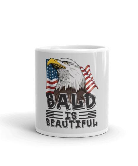 Bald is Beautiful USA Mug
