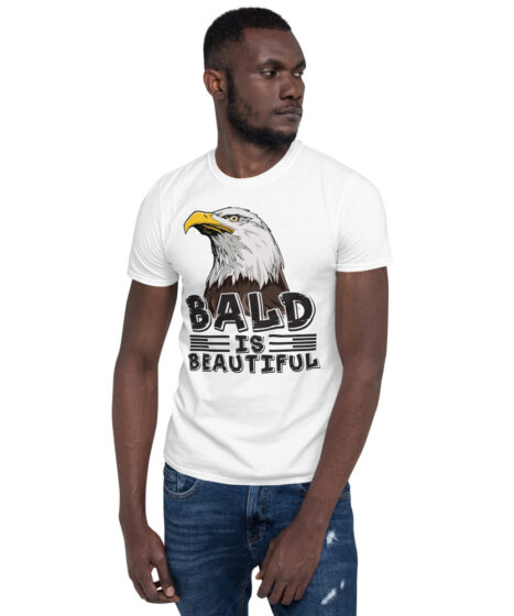 Bald is Beautiful Short-Sleeve Unisex T-Shirt