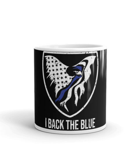 I Back The Blue Mug