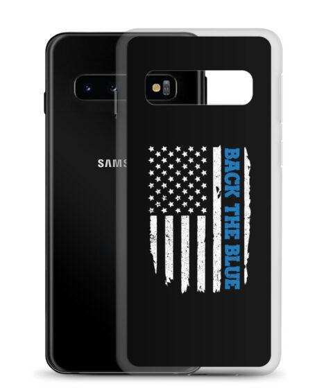 Back The Blue Flag Samsung Case