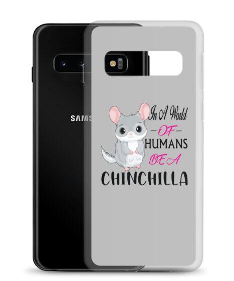 Chinchilla in World of Humans Samsung Case