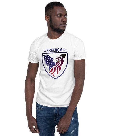 Freedom USA Eagle Short-Sleeve Unisex T-Shirt