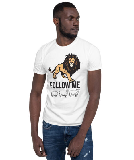Follow Me Sheep Short-Sleeve Unisex T-Shirt