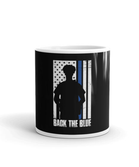 Back The Blue Law Enforcement Mug