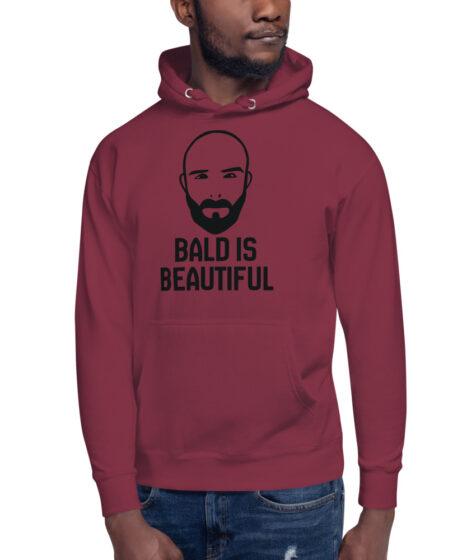Bald is Beautiful Unisex Hoodie