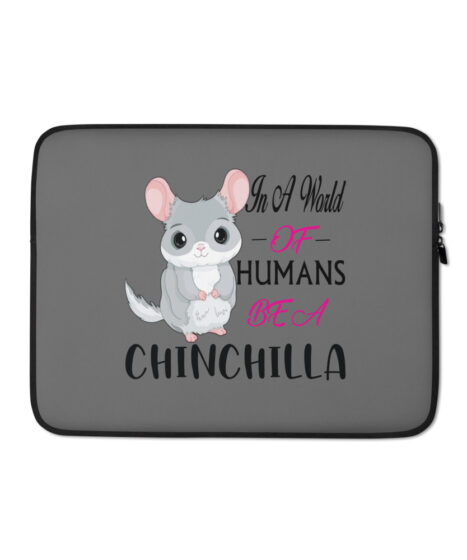 Chinchilla in World of Humans Laptop Sleeve