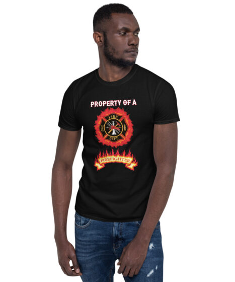 Property of Fire Fighter Short-Sleeve Unisex T-Shirt