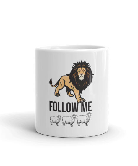 Follow Me Sheep Mug