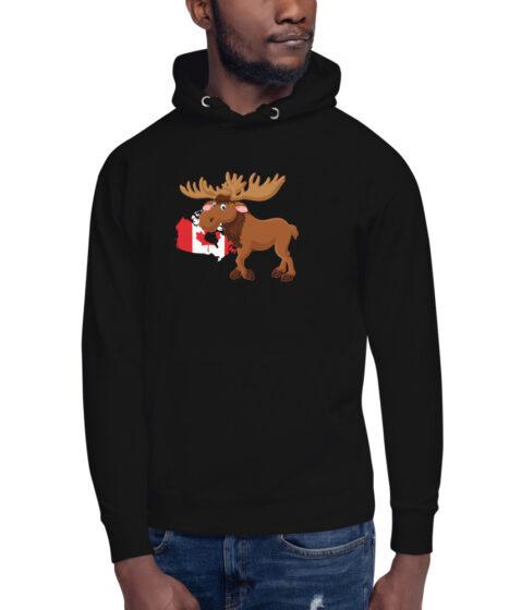 Canada Moose Unisex Hoodie