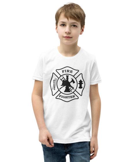 Firefighter Youth Short Sleeve T-Shirt