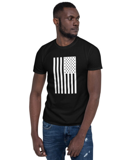 USA Flag Short-Sleeve Unisex T-Shirt