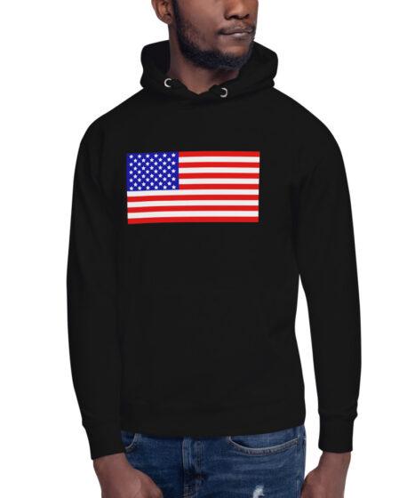 USA Flag Unisex Hoodie