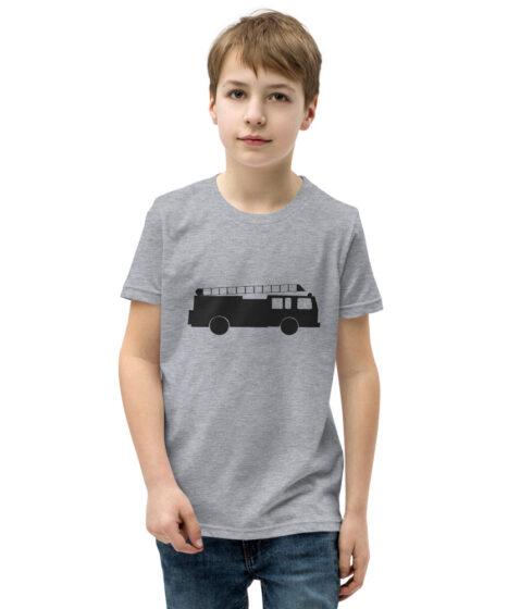 Fire Truck Youth Short Sleeve T-Shirt