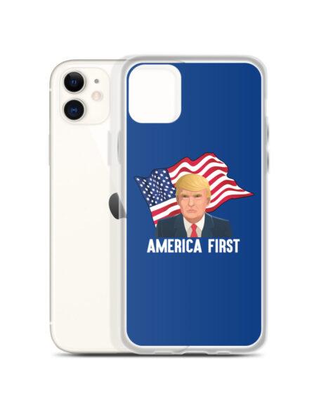 Trump America First iPhone Case