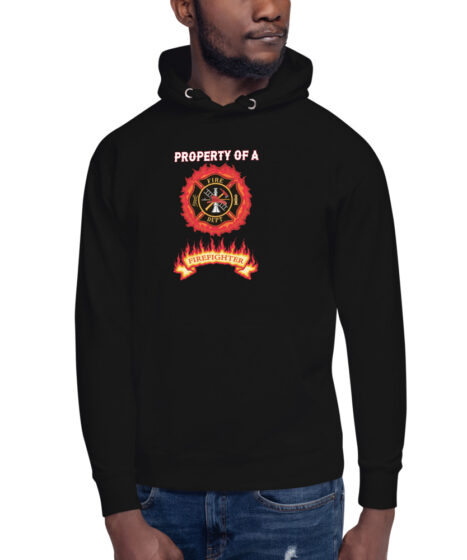 Property of Fire Fighter Unisex Hoodie