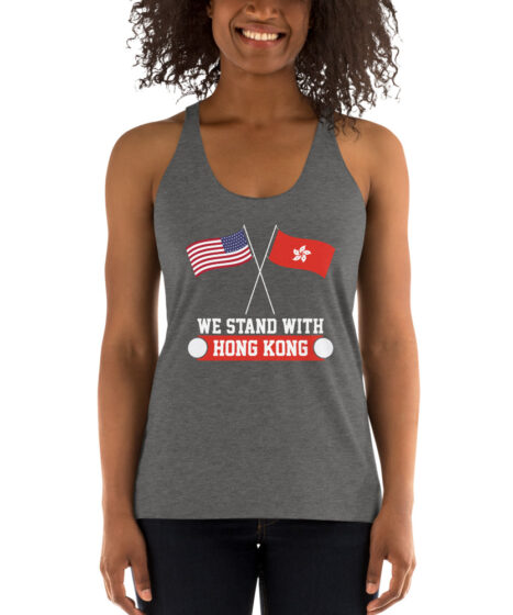 Stand with Hong Kong Women's Racerback Tank