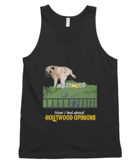 Hollywood Opinions Classic tank top (unisex)