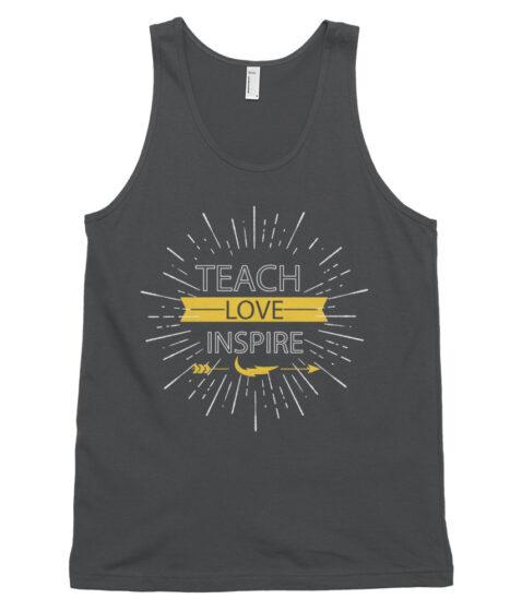 Teach Love Inspire Classic tank top (unisex)