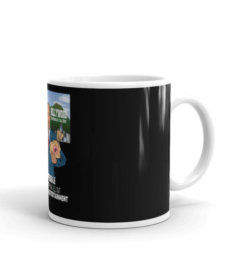 The Pebble ( The Rock) People's Hollywood Sell Out Mug