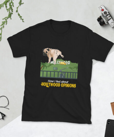 Hollywood Opinions Short-Sleeve Unisex T-Shirt