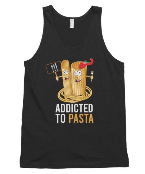 Addicted to Pasta Classic tank top (unisex)