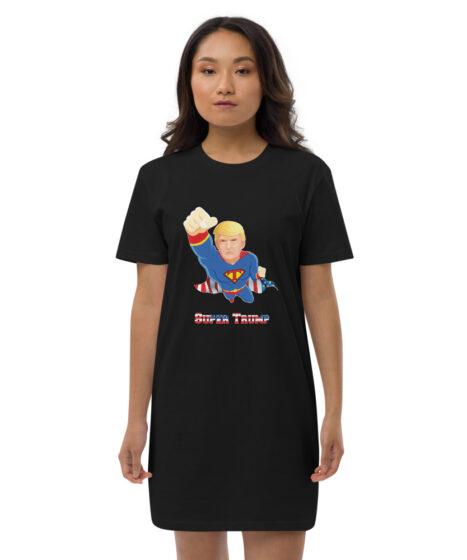 Super Donald Trump USA Organic cotton t-shirt dress