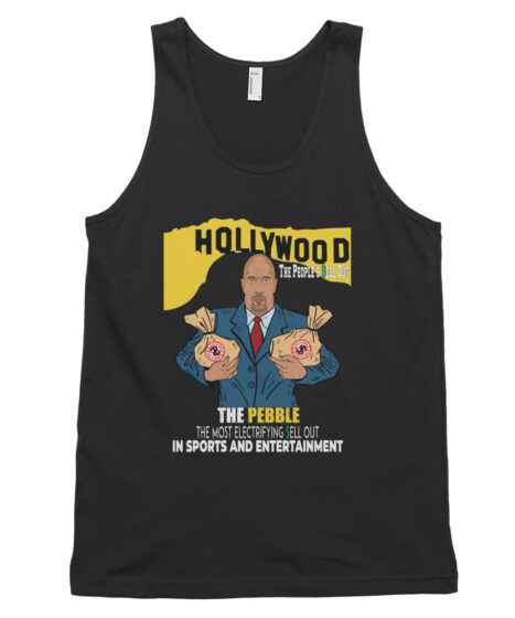 The Pebble ( The Rock) People's Hollywood Sell Out Classic tank top (unisex)