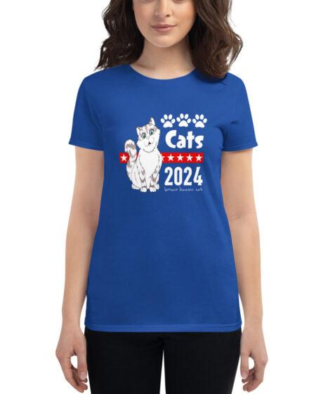 Cats 2024 Women's short sleeve t-shirt