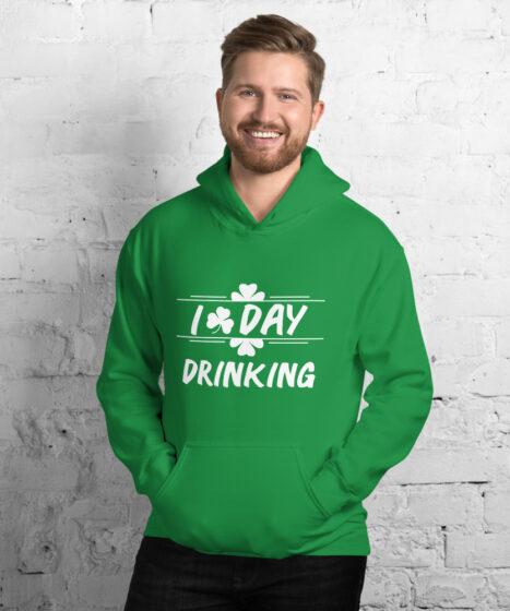 I Love Day Drinking Unisex Hoodie