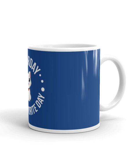 Caturday Is My Favorite Day Mug