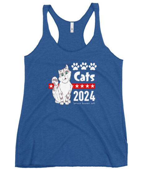 Cats 2024 Women's Racerback Tank