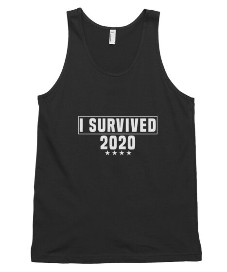 I Survived 2020 Classic tank top (unisex)