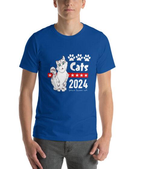 Cats 2024 Short-Sleeve Unisex T-Shirt