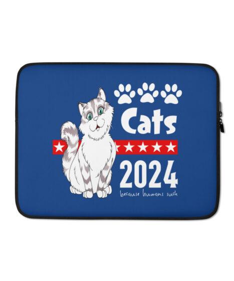Cats 2024 Laptop Sleeve