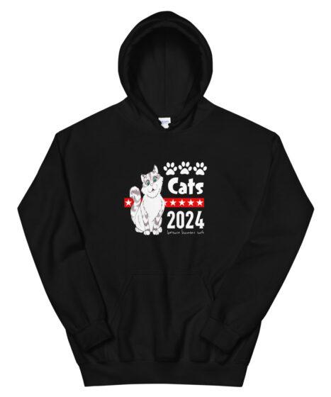Cats 2024 Unisex Hoodie