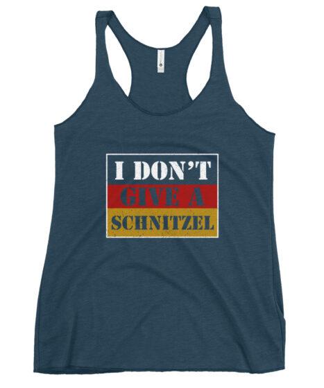 I Don't Give A Schnitzel Women's Racerback Tank