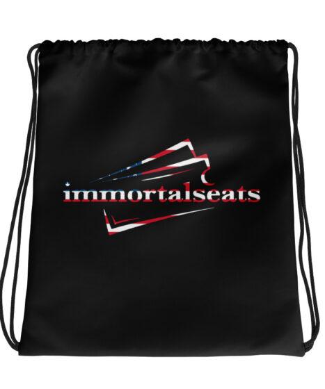Immortal Seats Drawstring bag