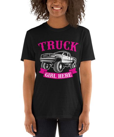 Truck Girl Short-Sleeve Unisex T-Shirt