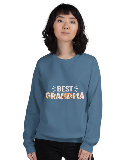 Best Grandma Unisex Sweatshirt