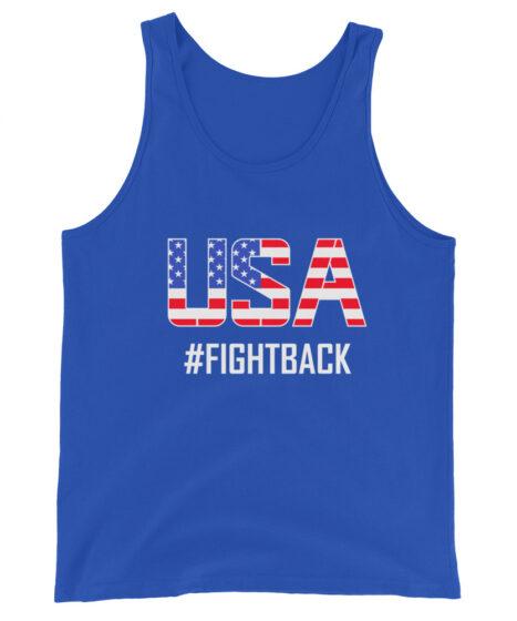 USA Fightback Unisex Tank Top