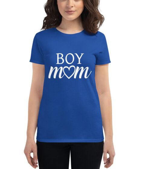 Boy Mom Women's short sleeve t-shirt